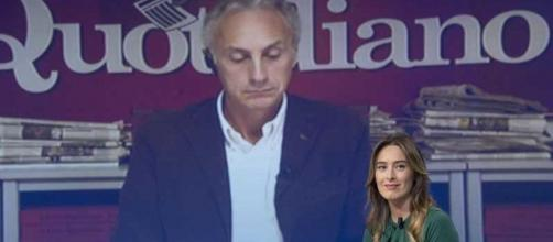 L'ultima apparizione pubblica di Maria Elena Boschi risale al 14 dicembre scorso nella trasmissione Otto e Mezzo