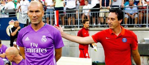 Madrid - Zidane flatte Emery et le PSG avant le choc - madeinfoot.com