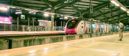 "Metro Mumbai ""Azad Nagar"" Azad Nagar (Image credit – Ashwin Kumar, Wikimedia Commons)"