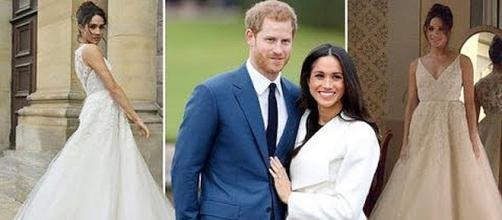 Prince Harry and Meghan Markle plan for their wedding on May 19, 2018 [Image: Breaking News/YouTube screenshot]