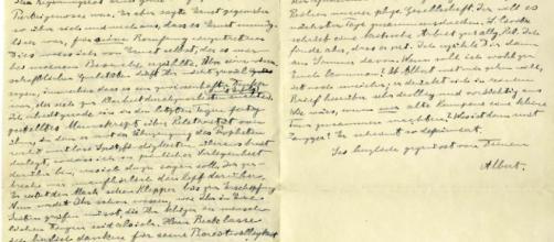 Subastarán carta enviada por Einstein durante la Primera Guerra ... - elnuevodia.com