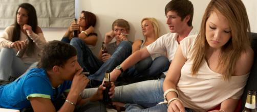 Xanax, above, is said to be becXanax becoming as popular as alcohol and marijuana among young people. Photograph: Alamy