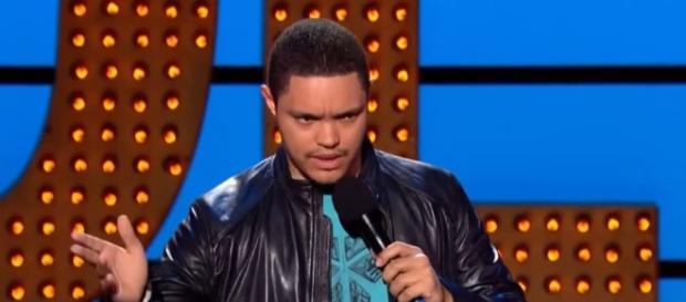 Comedian Trevor Noah On being mixed race in South Africa -Image credit - Z. Zedd   YouTube