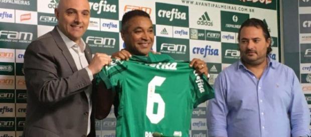 Maurício Galiotte, Roger Machado e Alexandre Mattos