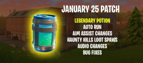 "New Legendary potion coming to ""Fortnite"" Battle Royale. Image Credit: Own work"