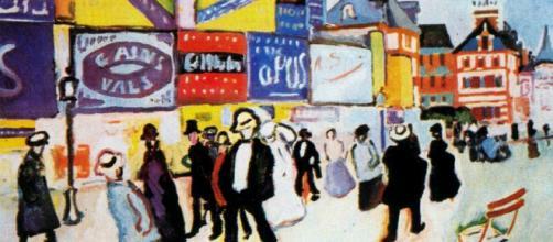 """""""Carteles en Troville"""" realizado por Raoul Dufy"""