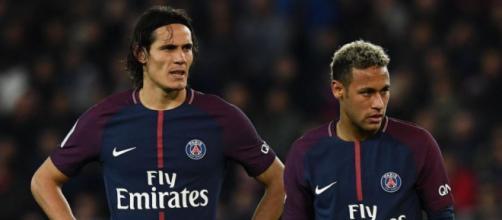 Cavani e Neymar são duas das maiores estrelas do PSG