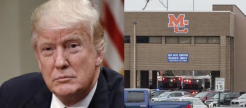 Donald Trump, Kentucky shooting, via Twitter