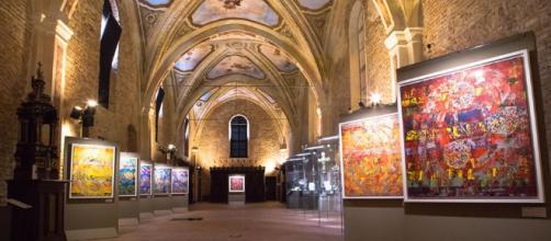 Esposizione delle opere di FEOFEO presso Museo Diocesano San Giovanni