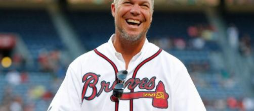 Four elite ball players have entered Major League Baseball's Hall of Fame, including Chipper Jones. Photo Credit: WPGA/YouTube Screen Capture