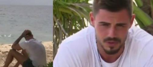 Isola, Francesco Monte finisce in lacrime per Chechu