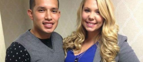 Javi Marroquin and Kailyn Lowry pose together. [Photo via Instagram]