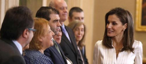 Reina Letizia nuevamente dando de que hablar