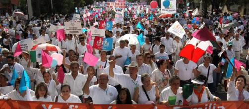 Las protestas contra el matrimonio igualitario sucedieron en 120 ciudades del país.