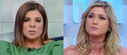 Mara Maravilha fala a verdade sobre sua saída do Jogo dos Pontinhos e comenta relação com Lívia Andrade