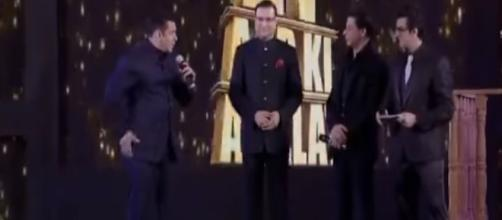 Salman, Shahrukh & Aamir together on one stage create Big history- Image credit - Falling Love | YouTbe