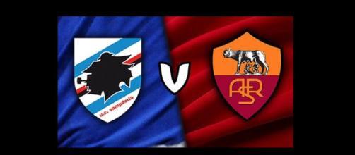 sampdoria-roma diretta streaming calcio live oggi