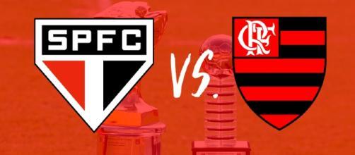 São Paulo x Flamengo ao vivo quinta-feira