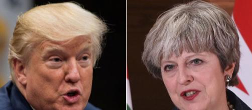 Theresa May and Donald Trump discuss 'differences' in first call ... - sky.com