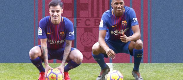 Coutinho y Mina podrían jugar en los siguientes partidos