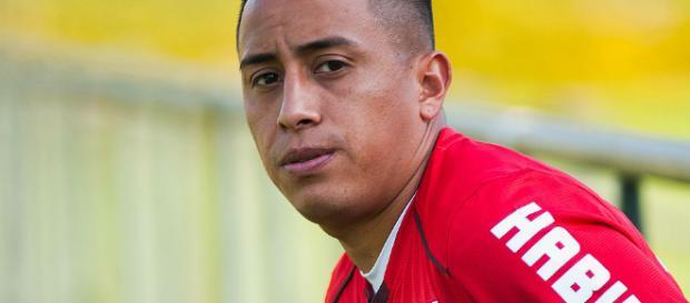 Jogador Cuevas do time do São Paulo