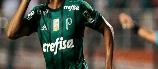 Keno foi um dos grandes destaques do Palmeiras em 2017.