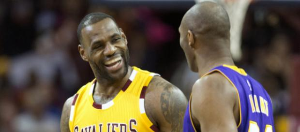 Kobe sends message to King James - [Image via NBA/YouTube screenshot)
