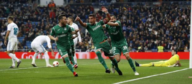 Leganés le gana al Real Madrid