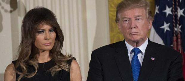 Melania Trump nu îl însoțește pe președintele american la Davos - Foto: Daily Mail (© AFP/Getty Images)