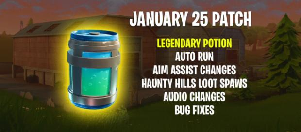 """New Legendary potion coming to """"Fortnite"""" Battle Royale. Image Credit: Own work"""