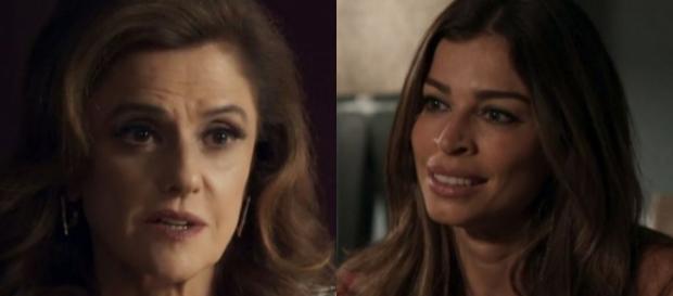 Sophia revela que não é a mãe de Lívia e a humilha (Foto: TV Globo)
