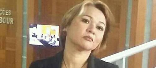 A jornalista Marcia Pache foi agredida fisicamente pelo ex-vereador Kirrakinha