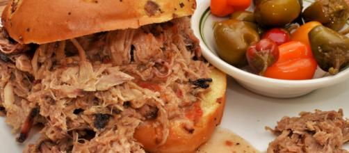A pulled pork sandwich an environmental disaster [image courtesy jeffreyw flickr]