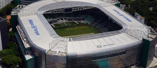 Allianz Parque es una de las arenas mas hermosas y es es parte del Palmeiras