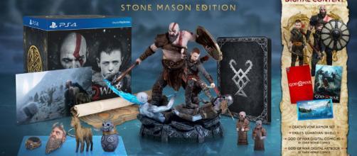 Así es la asombrosa edición coleccionista de God of War - 3djuegos.com
