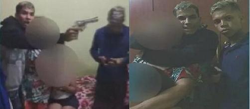 Família é feita refém por quadrilha armada