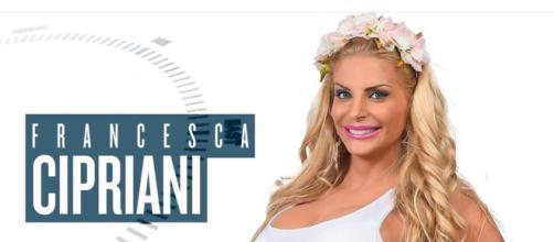 Francesca Cipriani all'Isola dei famosi