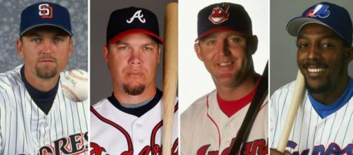 Hoffman, Chipper, Thome y Vladimir son los entronizados al Hall of Fame Clase 2018 de MLB. www.sportingnews.com.