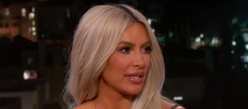 Kim Kardashian - Image Credit: Jimmy Kimmel Live/YouTube screencap