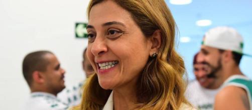 Leila Pereira é a empresária patrocinadora do clube