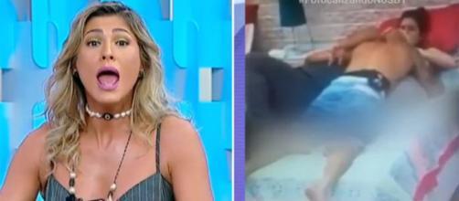 Lívia Andrade no ''Fofocalizando'' (Reprodução/SBT)