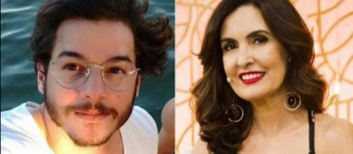 Mãe de Túlio Gadêlha é contra o relacionamento dele com a apresentadora Fátima Bernardes