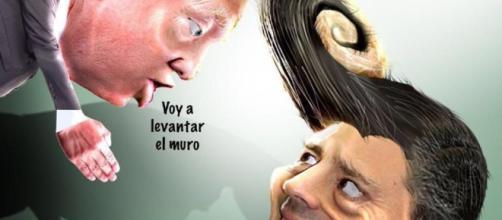 'Memes' de la visita de Trump a México. - lavanguardia.com