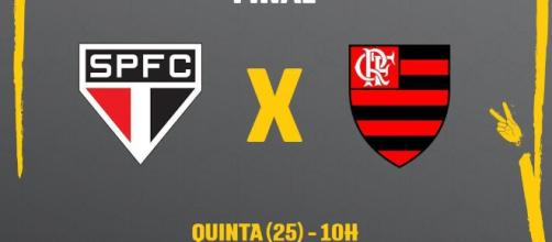 São Paulo x Flamengo: assista ao vivo. (Foto Reprodução).