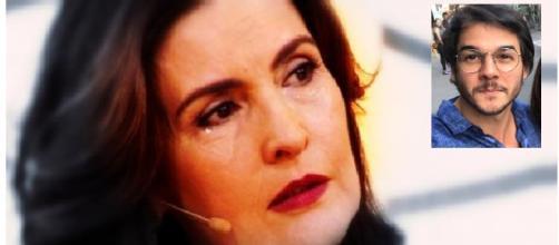 Sogra não quer Fátima Bernardes na família. (Foto internet)