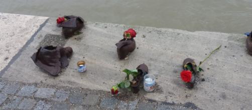 Un fiore per ricordare il triste passaggio di tanti innocenti