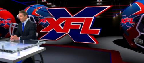 Vince McMahon during his XFL press conference on Thursday. [Image via XFL/YouTube]