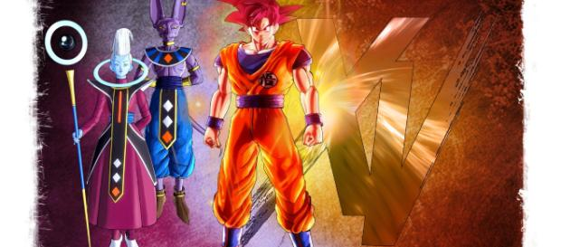 A story where you can learn a little more about Dragon Ball Fighter Z and his battles with gods see and delight