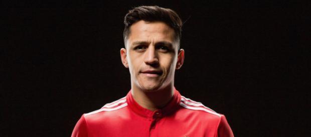 Alexis Sánchez en el Manchester United