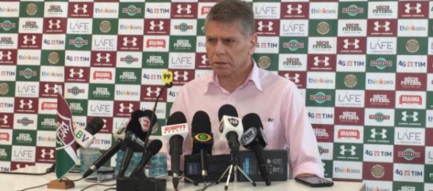 Autuori cogita deixar o Fluminense caso salários não sejam pagos até a data prometida